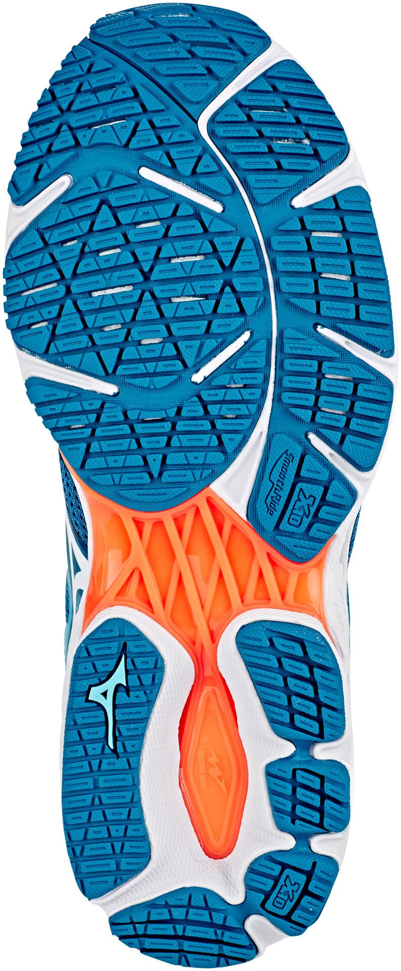 Mizuno Wave Shadow 2 Schoenen Dames, blue sapphirewhiteblue curacao